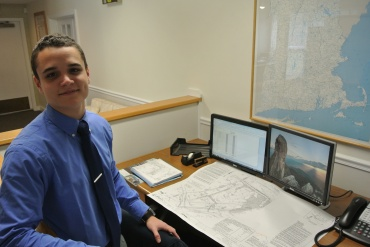 Gianni Hache is an intern for Atlantic Design Engineers.