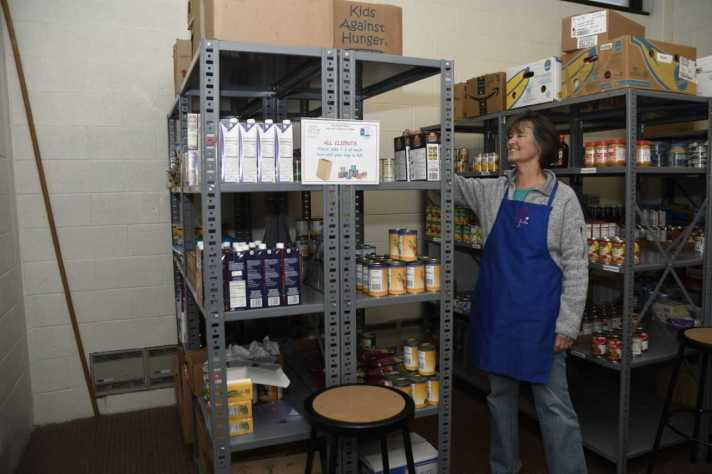 food pantry volunteer bruce