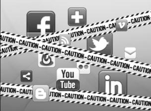 Use social media with caution. courtesy of medium.com
