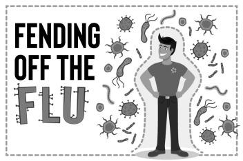 Flu visual art. courtesy of www.aisd.net