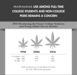 Marijuana survey results courtesy of drugabuse.gov